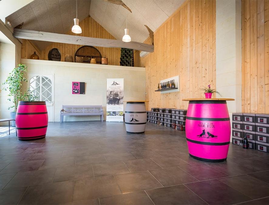 Cave des Nerleux à Saumur vins