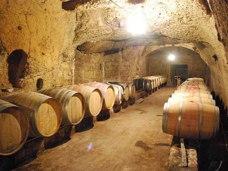 Cave tuffeau Saumur